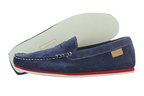 08dfdae85ae9dd Lacoste Chanler 2 Suede Men Shoes Dark Blue 7-27SRM1211-120 (SIZE ...