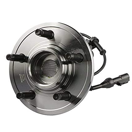 MOSTPLUS Wheel Bearing Hub Front Wheel Hub and Bearing Assembly for 2002-2009 GMC Chevy with ABS 6 Lug 513188