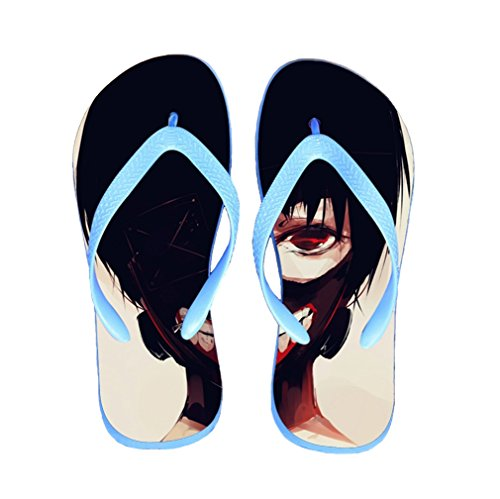 Bromeo Tokyo Ghoul Anime Unisex Flip Flops Chanclas 43