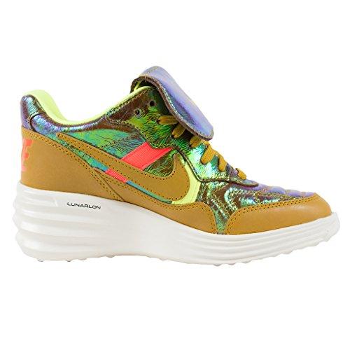 Nike Kvinna Lunartiempo Skhi Prm Qs Trophy Pack Brons / Mörk Citron / Hyper Punch