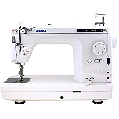 Juki TL-2010Q 1-Needle, Lockstitch, Portable Sewing Machine with Automatic Thread Trimmer for Quilting, Tailoring, Apparel and Home Decor from Jiuki