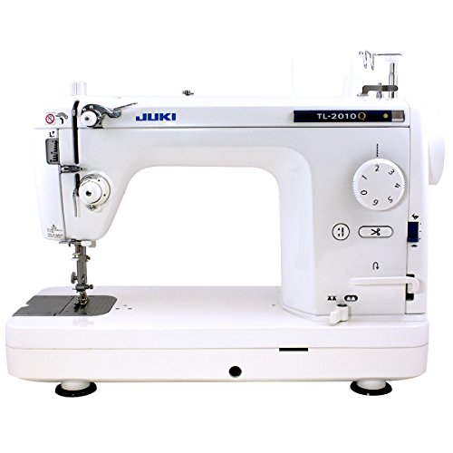 Juki TL-2010Q 1-Needle, Lockstitch, Portable Sewing Machine with Automatic Thread Trimmer for Quilting, Tailoring, Apparel and Home ()