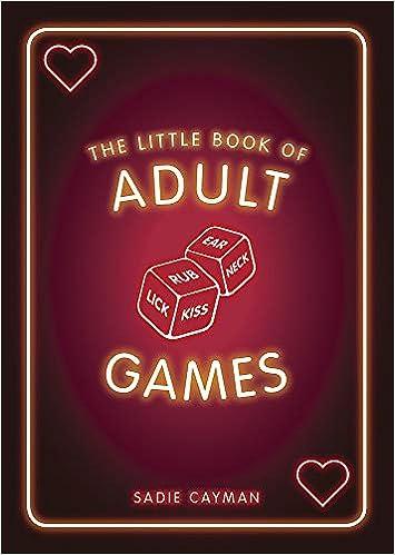 el pequeño libro de juegos para adultos