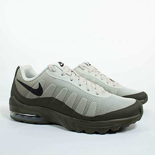 Nike Men's Air Max Invigor Print Shoe Light Bone/Black/Cargo Khaki Size 9.5 M US (Light Bone Footwear)