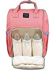 حقيبة لحمل أغراض الطفل من جنين بيبي - مقسمة من الداخل - برتقالى