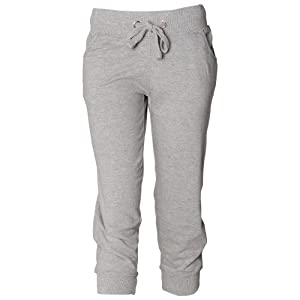 41hk0SA2YGL. SS300  - Skinni Fit Ladies/Womens Skinnifitness 3/4 Jog Pants / Jogging Bottoms (M) (Heather Grey)