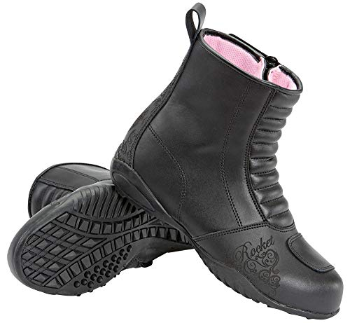 Joe Rocket Women's Trixie Boots (Black, Size 7) from Joe Rocket