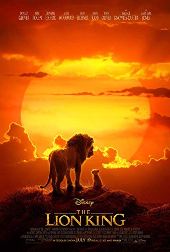 Movie Poster: The Lion King 2019 Posters and Prints Unframed Wall Art Gifts 12x18 P01