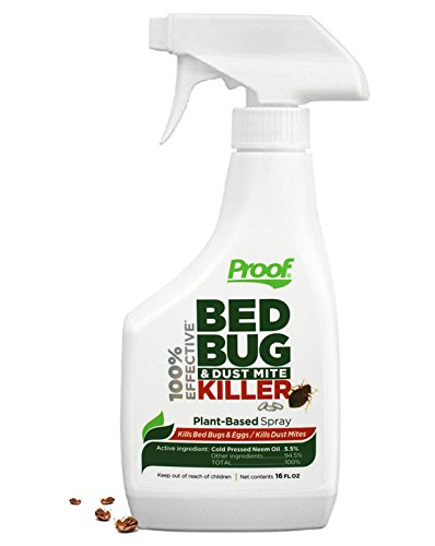 Proof Bed Bug Spray - 100% Effective, Lab Tested Bed Bug Killer