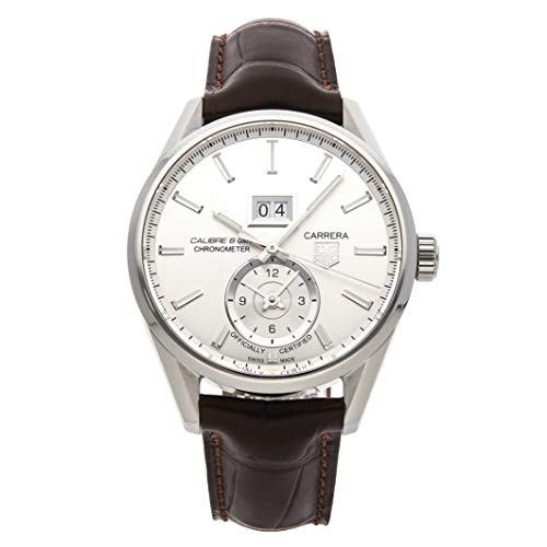 Tag Heuer Carrera Mechanical (Automatic) Silver Dial Mens Watch WAR5011.FC6291 (Certified Pre-Owned)