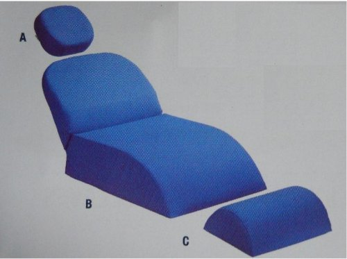 Dental Upholstery Chair (Patient Chair Cushion for Dental Chairs,complete Set (A-b-c))