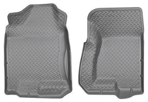- Husky Liners Front Floor Liners Fits 99-07 Silverado/Sierra 1500 Extended Cab