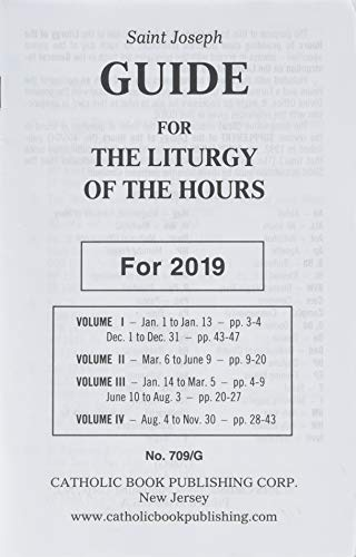 Saint Joseph Guide for the Liturgy of the Hours: For 2019