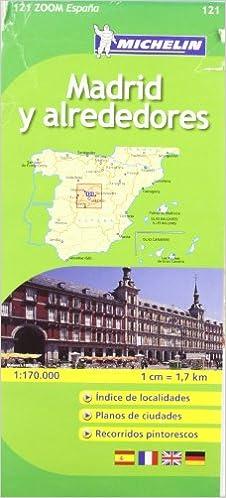 Mapa Zoom Madrid y alrededores (Mapas Zoom Michelin): Amazon.es ...