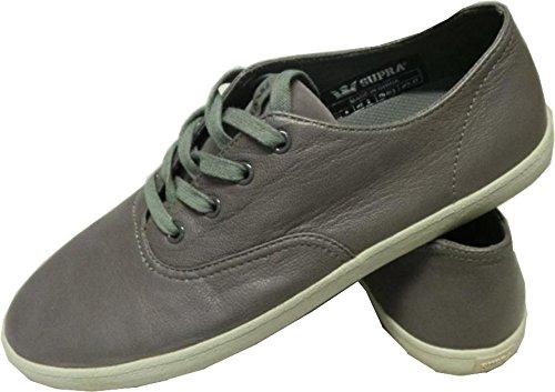 SUPRA Skateboard Schuhe Wrap Grau