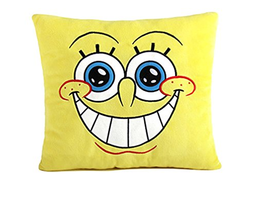 Spongebob Pillow Seat Cushion for Leaning On (Smile)