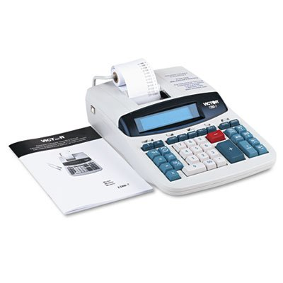 VCT12807 - Victor 1280-7 Two-Color Printing Calculator w/USB