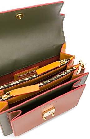 Marni Luxury Fashion Femme SBMPN09U47LV589Z288R Vert Cuir Sac Porté Épaule | Printemps-été 20