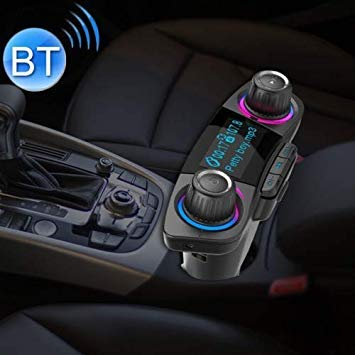 Uniqus BT06 Dual USB Charging Smart blueetooth 4.0 + EDR FM Transmitter MP3 Music Player Car Kit with 1.3 inch LED Screen, Support blueetooth Call, TF Card & U Disk