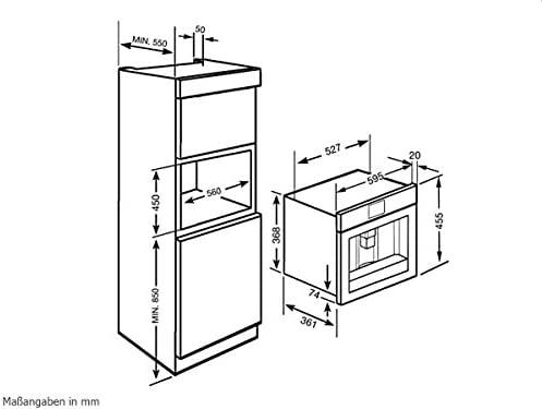 Smeg CMSC451 - Cafetera (Integrado, Máquina espresso, 1,8 L ...