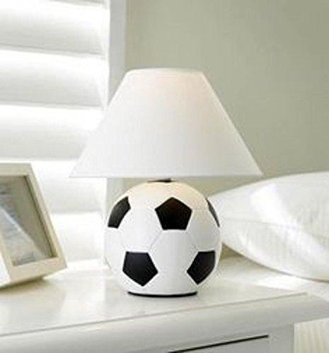 Ceramic football lamp kids childrens bedroom bed side table lamp ceramic football lamp kids childrens bedroom bed side table lamp shade aloadofball Images