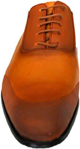Tamboga Chaussures marron et camel à lacets 922mink-claser