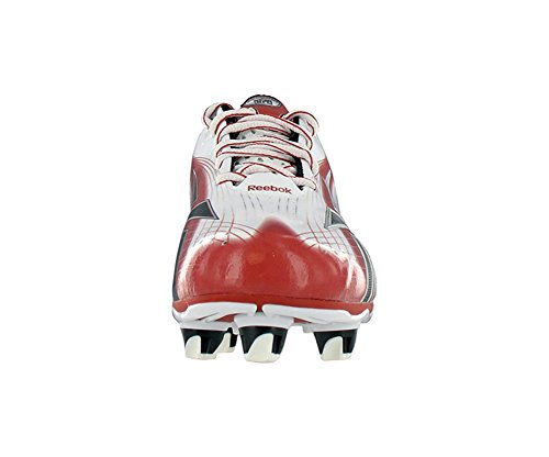 Low White Speed NFL Burner Football Shoes Reebok Men's SD4 LT Black Red FwX6XTq