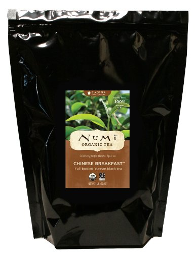 Numi Organic Tea Breakfast chinoise du Yunnan thé noir, Loose Leaf, 16 once Sac