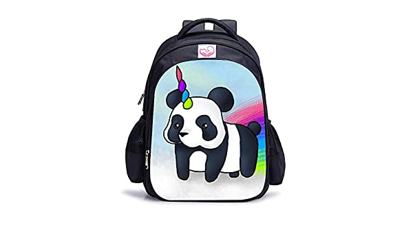 HPADR Mochila Infantil Mochila para Niños Unicornio Panda ...