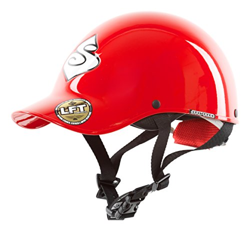 Sweet Protection Strutter Paddle Helmet, Scorch Red, Small/Medium (Helmet Whitewater)