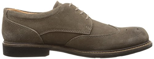 Ecco Heren Findlay Brogue Tie Oxford Dark Clay