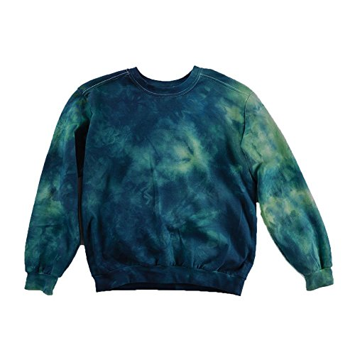 Blue Tie Dye Sweatshirt Unisex Festival Hoodie Grateful dead Plus Size S, M, L, XL, XXL