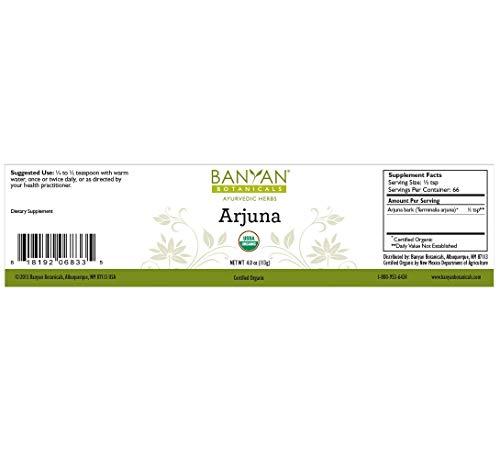 Amazon.com: Banyan Botanicals Arjuna Powder - USDA Certified Organic - Terminalia arjuna - Ayurvedic Bark Powder for a Healthy Heart*: Health & Personal ...