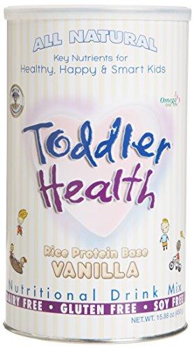 Enfant santé - nutritionnel boire Mix, produits laitiers, Gluten & Soy libre, riz vanille 20 portions
