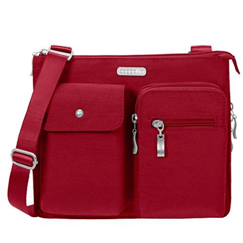 Apple Chain Purse Key Bag Crossbody w Everything Wristlet Accordion Baggallini amp; TwxqvI0H7