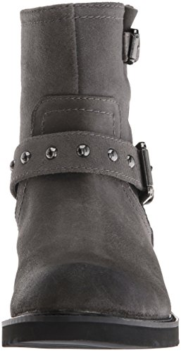 Grey West Dark Leather Willa Women's Boot Nine fHxqYpY