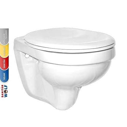 Villeroy & Boch wandhängende Toilette Farbe:Pergamon: Amazon ...