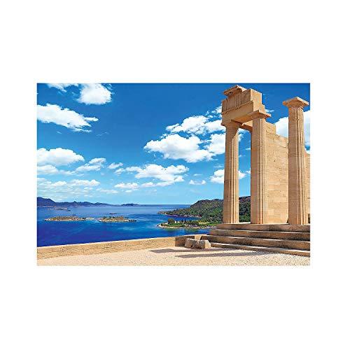 Fun Express - Athens Vbs Backdrop Banner - Party Decor - Wall Decor - Preprinted Backdrops - 3 Pieces]()