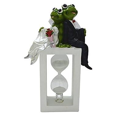 Gift Garden Funny Frog Wedding Cake topper