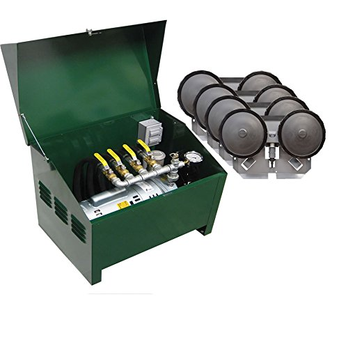 EasyPro Sentinel 3/4 HP Rotary Vane Pond Aeration System Aerates UpTo 4 Acres