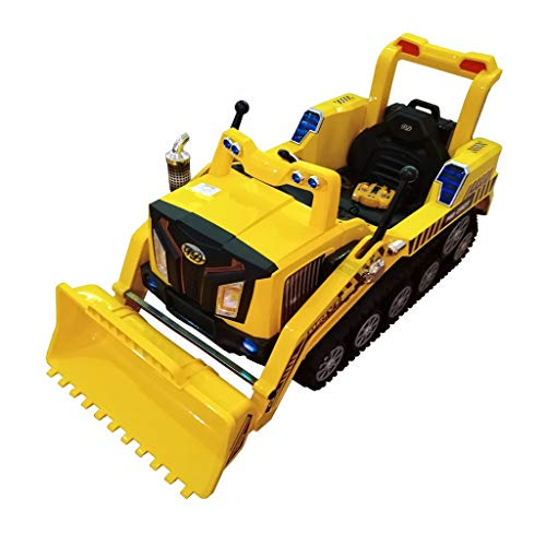 Price comparison product image Retrofish FD-2810 2.4G Full Functional Excavator with Charger,  Crawler Construction Truck Manned Dual Mode RC Bulldozer Car RTR for Kids