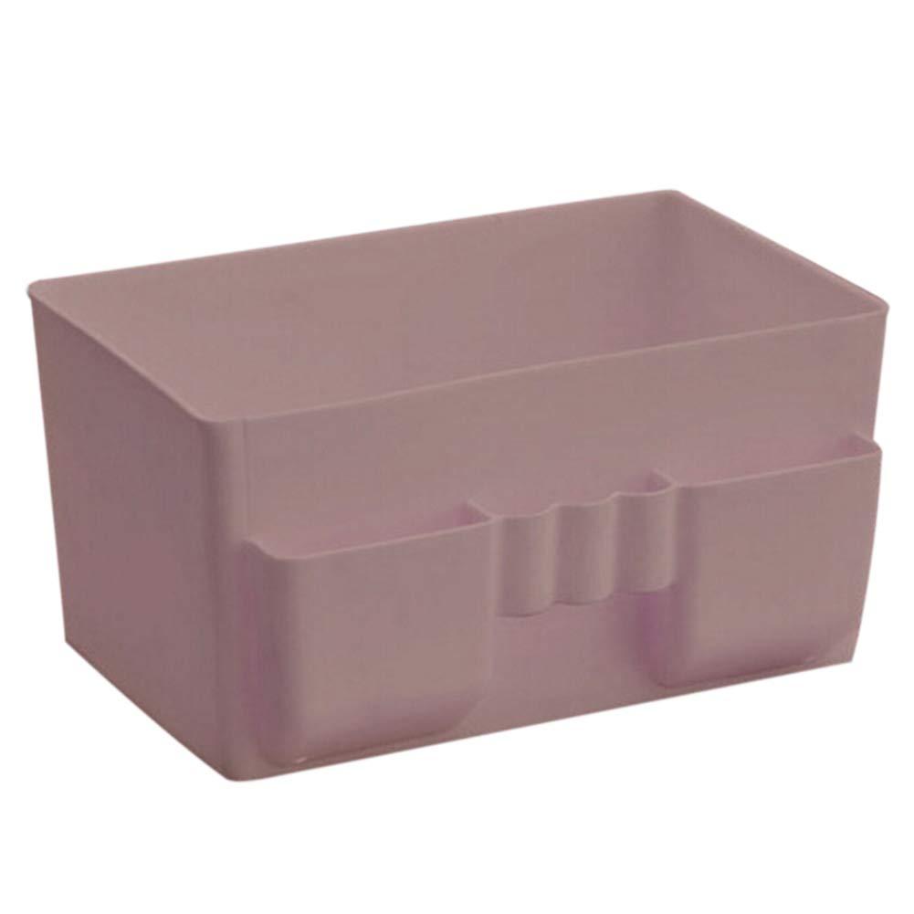 SELUXU Gran Capacidad cosmética/Maquillaje Organizador Caja de plástico, Titular de Escritorio Organizador de Almacenamiento V8W397XI40VQ5L15T