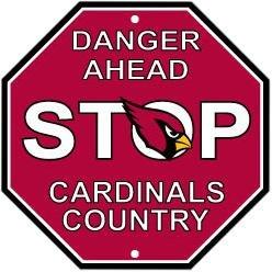 Arizona Cardinals Sign - 6