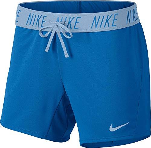 (Nike Women's Flex Attack Training Short Signal Blue/Cobalt Tint Small 5.5)