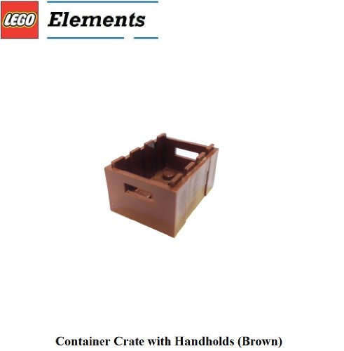 Lego Parts: Container Crate with Handholds