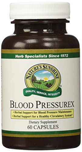 NATURE'S SUNSHINE Blood Pressure Capsules, 60 Count