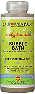 California Baby Eucalyptus Ease Bubble Bath - 13 oz