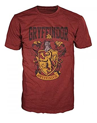 Amazon.com: Harry Potter Gryffindor Mens Red T-Shirt: Clothing