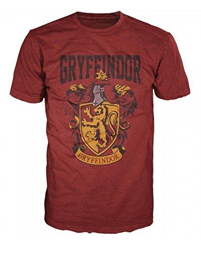 Harry-Potter-Gryffindor-Mens-Red-T-Shirt