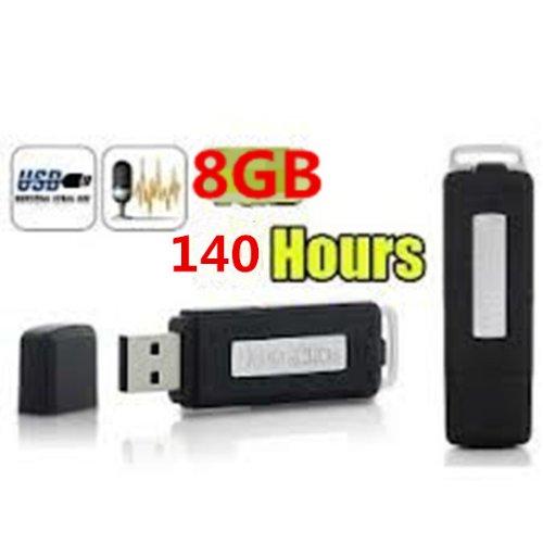 3 opinioni per Regisratore Vocale Audio 8GB Spia Cimice Spy 400 Ore Voice Recorder Mini Micro
